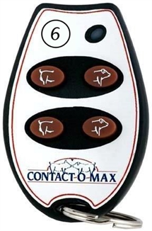 Picture of Contact-O-Max Remote Control Yellow Light 4 Button Freq #6