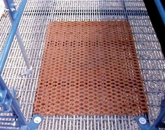 """Picture of 24"""" W x 30"""" L coated floor patch"""