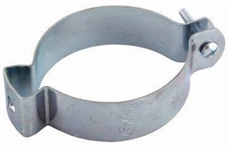 "Picture of 3"" EMT Clamp, Zinc"