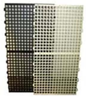 "Picture of 24""x48"" Black Plastic Slat, Breeding House"