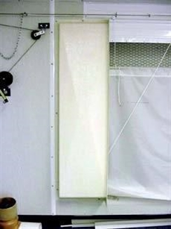 "Picture of 18""X 66"" Fiberglass Curtain Pocket, Left"