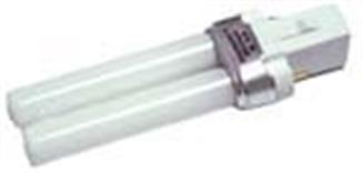 Picture of 9 Watt Fluorescent Twin Bulb