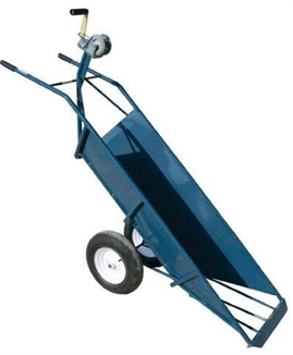 Picture of Hog Slat® Carcass Cart with Sheet Metal Sides