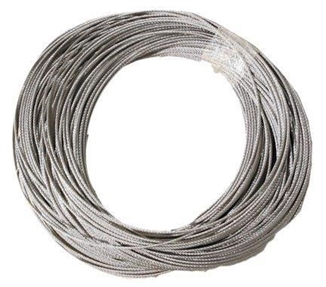 "Picture of 5/16"" Stainless Steel Cable - 7 x 19"