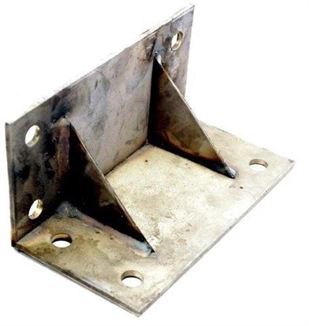 Picture of 8'' X 5'' Stainless Steel Right Angle Scraper Floor Bracket