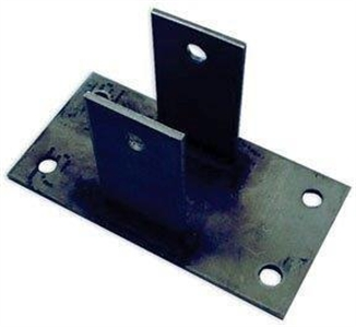 Picture of Scraper Corner Wheel Bracket Only - SS