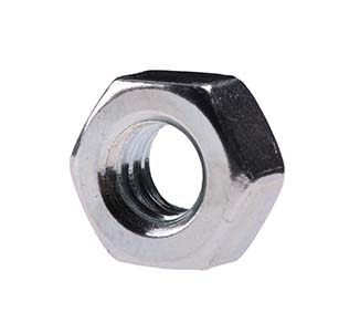 "Picture of 1/2"" nut  zinc"