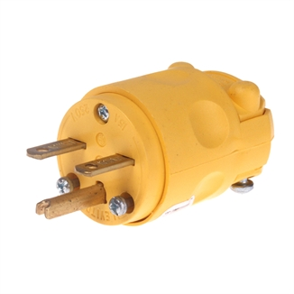 Picture of PLUG MALE CORD CONNECTOR 15 A 220V