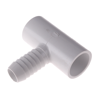 """Picture of 3/4"""" BARB TEE PVC SCH 40"""