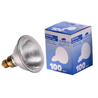 Picture of Hog Slat® Hard Glass Heat Lamp Bulb 100W