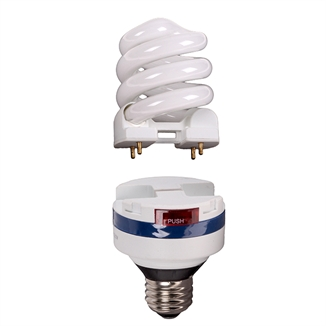 Picture of Lifelamp 15w CFL Bulb & Ballast Combo Dimmable