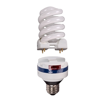 Picture of Lifelamp 23w CFL Bulb & Ballast Combo Dimmable