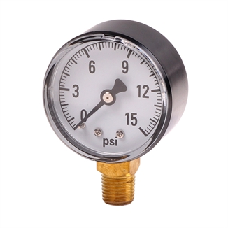 Picture of Water Pressure Gauge 0-15 PSI