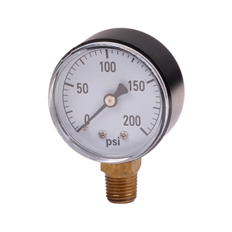 Picture of Water Pressure Gauge 0-200 PSI