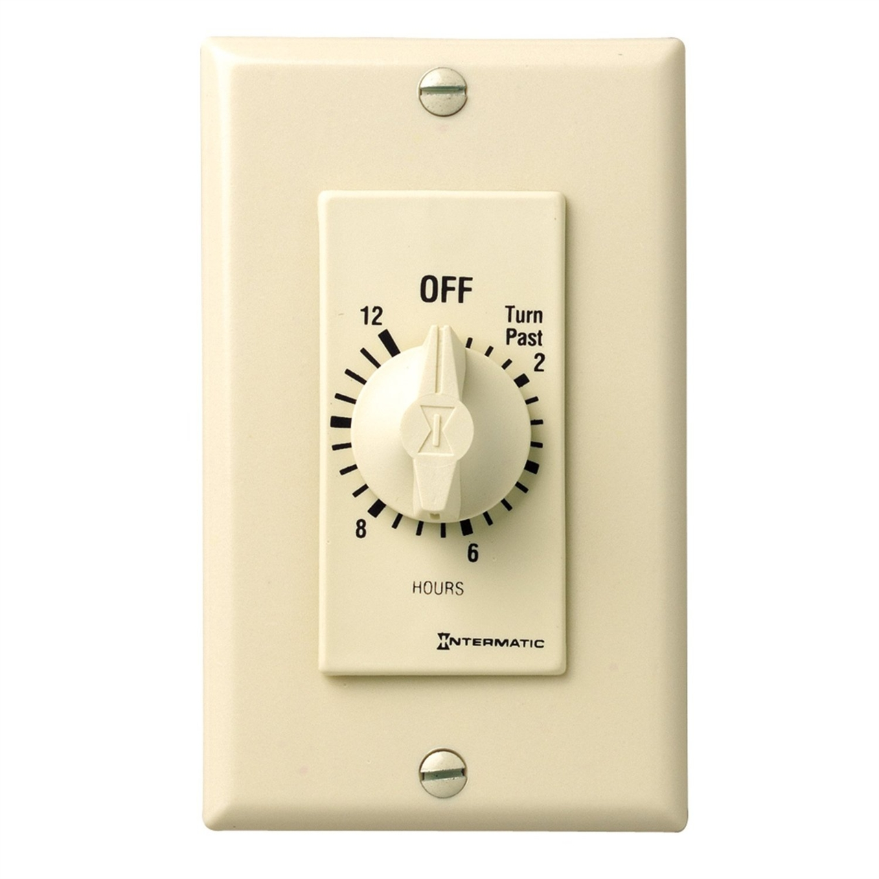 picture of intermatic 12 hour spring wound timer. Black Bedroom Furniture Sets. Home Design Ideas