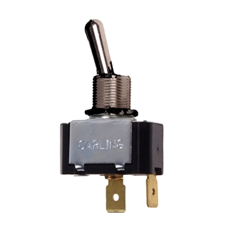 Picture of Toggle Switch SPST 10 Amp 250 V 3/4 HP