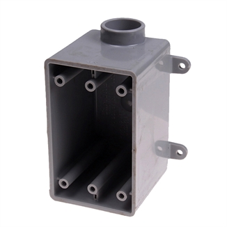 "Picture of 3/4"" PVC Box Single Gang/Access FDE Deep"