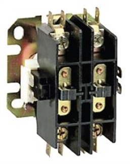 Picture of Contactor 2 Pole 20 & 30 Amp 24 VAC