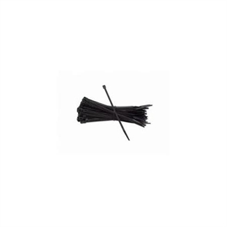 "Picture of 4"" Cable Wire Zip Ties - Black"