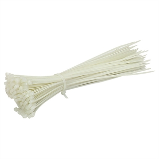 "Picture of 7-1/2"" Cable Wire Zip Ties - Natural"