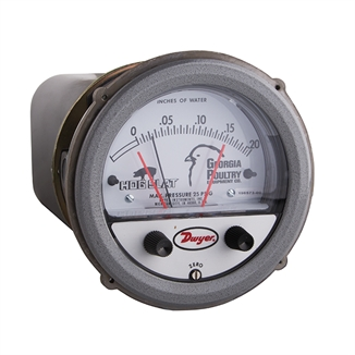 Picture of Hog Slat® Replacement Photohelic® Gauge