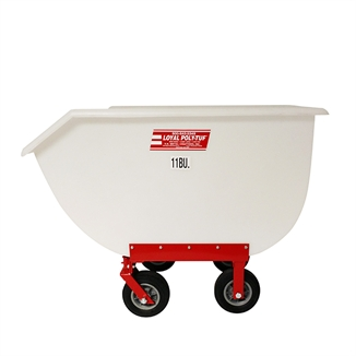 Picture of Poly-Tuf® Feed Cart With Rubber Tires