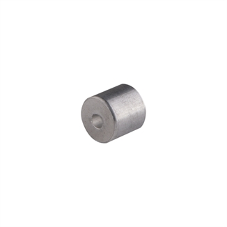 "Picture of 3/32"" Aluminum Button Stop"