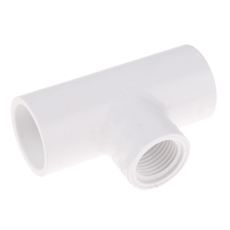 """Picture of 2"""" REDUCING TEE PVC SCH 40"""