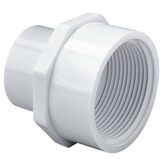 """Picture of 1"""" PVC Reducing Female Adapter"""