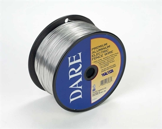 Picture of 16 GA. Aluminum Electric Fence Wire - 1/4 Mile
