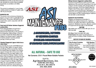 Picture of ASI Maintenance Plus - 1 lb Packs