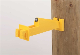 Picture of Extended Fence Insulator for Wood Post - 10 Pack