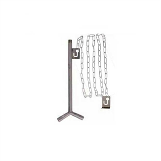 """Picture of Double Outlet 18"""" Hanging Pig Waterer"""