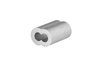 "Picture of 1/4"" Aluminum Sleeve"