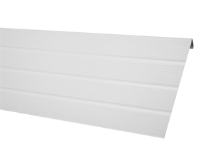 Picture of White Vinyl Fascia Trim - 18' Per Piece