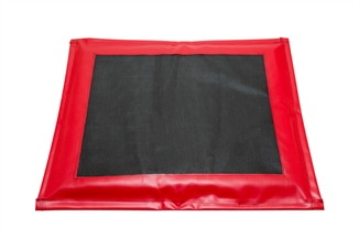 """Picture of Red Disinfectant Mat - 32"""" x 24"""" x 1-1/2"""""""