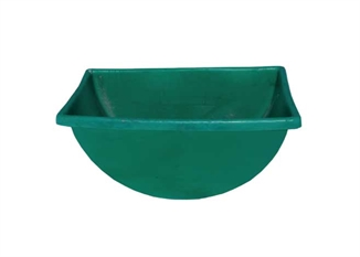 Picture of Green Plastic Tub for Feed Cart