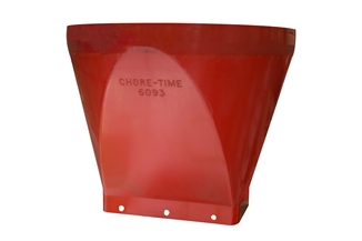 Picture of Chore-Time® Straight Upper Bin Boot Solid Red