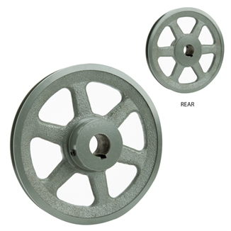 "Picture of 7"" Dia x 1"" Bore Fan Pulley AK74-1"