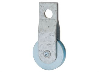 """Picture of 1-1/2"""" Steel Strap Pulley"""