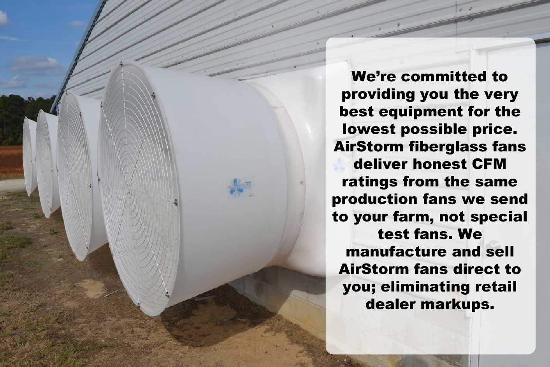 AirStorm Fiberglass Fan Installation