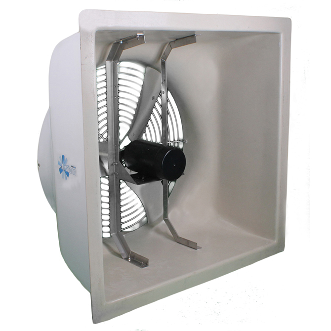 Airstorm 36 Fan Without Cone Hog Slat