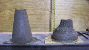 Hog Slat slump cones
