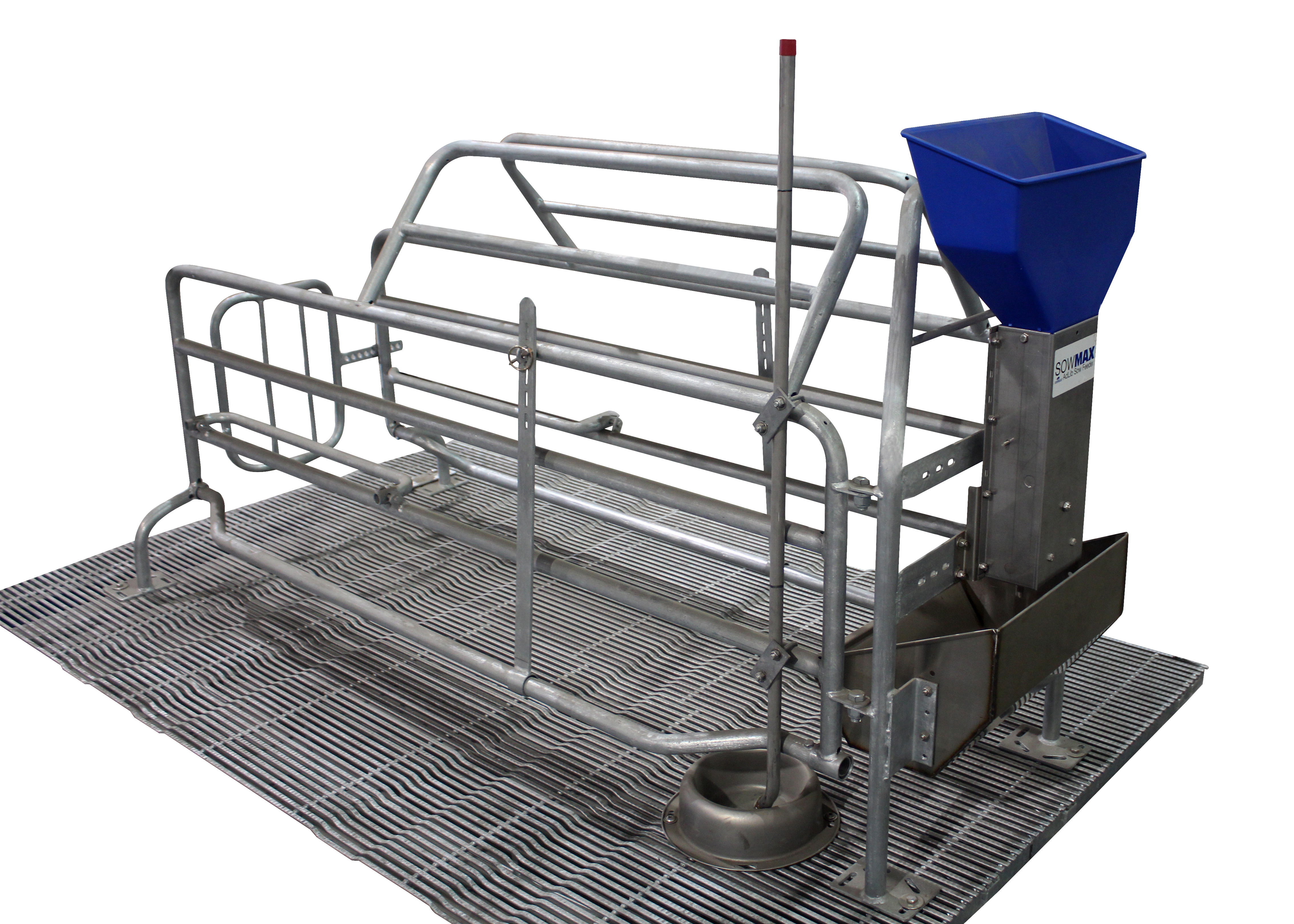 Hog Slat International farrowing crates are designed to comply with applicable animal welfare standards and built to meet the production needs of pork producers outside the United States.
