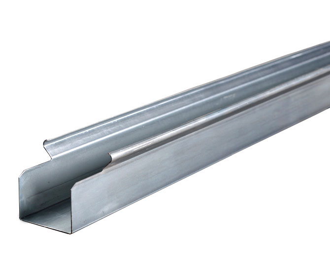 GrowerSELECT® chain feeding trough is constructed of roll-formed 18 gauge commercial grade G90 galvanized steel.